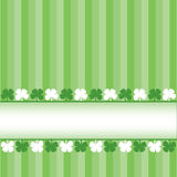 St. Patrick's Day banner Stock Photos