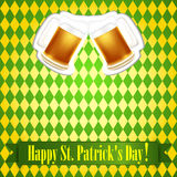 St.Patrick's Day banner Stock Photography