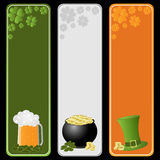 St. Patricks day banners Stock Photo