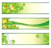 St. Patrick's Day banners Royalty Free Stock Photography