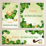 St.Patrick's Day banners. Royalty Free Stock Image