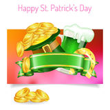 St. Patrick's Day Banners Royalty Free Stock Image