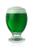 St. Patrick's Day beer. St. Patrick's Day green beer Stock Photo