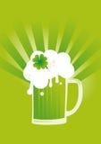 St. Patrick's day beer. vector illustration
