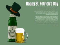 St patrick`s day beer Stock Images