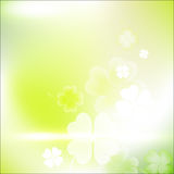St. Patrick`s Day Blurred Background. Royalty Free Stock Photo