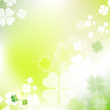 St. Patrick`s Day Blurred Background. Stock Images