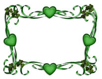 St Patrick's Day Border royalty free stock image