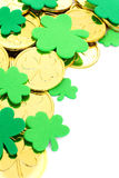 St Patrick's Day border Stock Photo