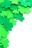 St Patrick's Day border Royalty Free Stock Image