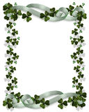 St Patrick's Day Border stock photos