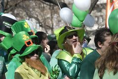 St. Patrick's Day, Budapest, Hungary Royalty Free Stock Photography