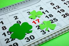 St.Patrick `s Day royalty free stock photography