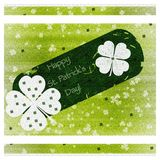 St.patrick's day card Royalty Free Stock Photo