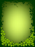 St. Patrick's day card stock image