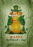 St.Patrick's Day card Stock Photography