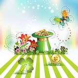 St. Patrick's Day card Royalty Free Stock Photo