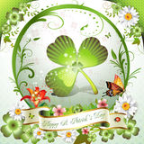 St. Patrick's Day card Royalty Free Stock Photography