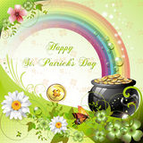 St. Patrick\'s Day card Stock Images