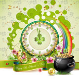 St. Patrick\'s Day card Stock Photography