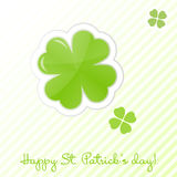 St Patrick's day card Royalty Free Stock Photography