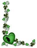 St Patrick's Day Card Border Stock Image