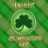 St Patrick's Day Card Stock Photo