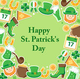 St. Patrick's Day card Stock Photos