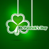 St. Patrick's Day card Royalty Free Stock Image