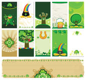 St. Patrick's Day cards vector illustration