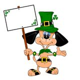 St Patrick's day cartoon Stock Photos
