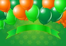 St. Patrick's Day Celebration Balloons Stock Images