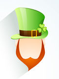 St. Patrick's Day celebration with Leprechaun. Royalty Free Stock Image