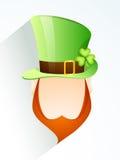 St. Patrick's Day celebration with Leprechaun. Royalty Free Stock Image