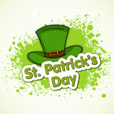 St. Patricks Day celebration with leprechauns hat. Royalty Free Stock Images