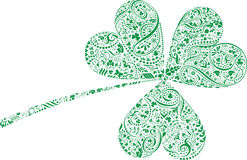 St. Patrick's Day Clover Leaf Royalty Free Stock Photography