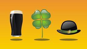St Patrick's day collection Royalty Free Stock Photos
