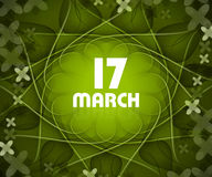 St patrick's day colorful  design Stock Images