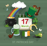 St. Patrick's Day concept Royalty Free Stock Photo