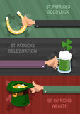St. Patrick's Day concept backgrounds Stock Images