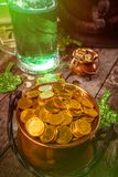 St Patrick`s Day concept royalty free stock photo