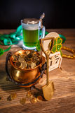 St. Patrick`s day concept stock image