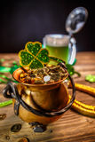 St. Patrick`s day concept stock photo