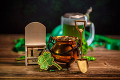St Patrick`s Day concept stock photography
