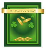 St. Patrick's Day Congratulations Stock Images