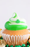 St. Patrick's day cupcake Stock Photography