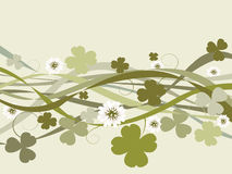 St. Patrick's Day design Stock Images