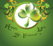 St.Patrick`s Day design Stock Photo