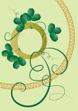 St. Patrick's Day design royalty free illustration