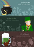 St. Patrick's Day design Royalty Free Stock Photo